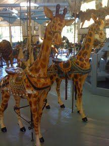The Dentzel Carousel in Highland Park, Meridian, Mississippi