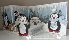We gaan nu toch al behoorlijk aftellen voordat het kerst is en de kerstkaarten verstuurd gaan worden. Mijn voorkeur gaat uit naar winterse...