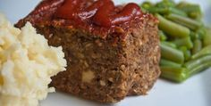 "This is a great ""meat"" loaf recipe from one of the Engine 2 Pilot Study participants, Lynn Jocelyn. Lynn brought this to the Engine 2 pot-luck awards banquet and it disappeared before everyone could get a bite."