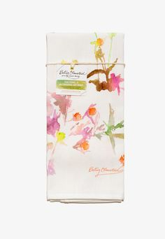 BRIKA | Watercolor Floral Towel | A Well-Crafted Life