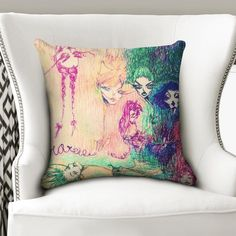 About The Arthalucionsmodern living art decorProduct DetailsSpice up your home with this soft, smooth, custom designed Throw Pillow. Pillow insert not included. Throw Pillow Cases, Throw Pillows, Art Of Living, Spice Things Up, Pillow Inserts, Art Decor, Custom Design, Handmade, Toss Pillows