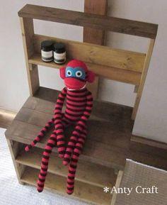 Cabinet ベンチにもなる アンティーク風飾り棚店舗什器ハンドメイド インテリア 雑貨 Handmade ¥7980yen 〆07月21日