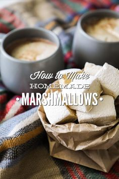 How to make fluffy homemade marshmallows with maple syrup as the sweetener. These naturally-sweetened marshmallows can be stored in the freezer for months.