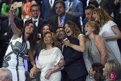 Selfie de Paz Padilla, Emma García, Sandra Barneda, Jorge Javier Vázquez, Raquel…
