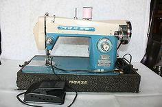 Vintage MORSE Super Dial Precision Sewing Machine
