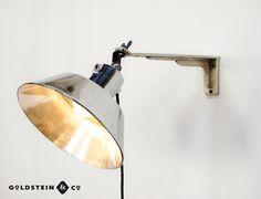 Beautiful polished EOW lamp.