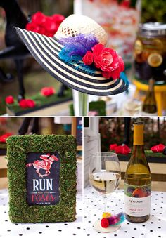 Hat's off to festive DIY touches for your #KentuckyDerbyParty. #derbyday #southerncharm