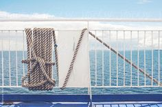 Rope on a Ship at Sea... by CatMacBride | Stocksy United