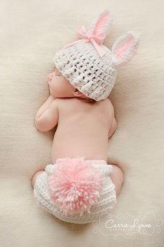 Baby Bunny ears (via precious | Baby mine ❤ | Pinterest)
