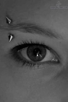 Eyebrow Piercing - #Eyebrow #piercing