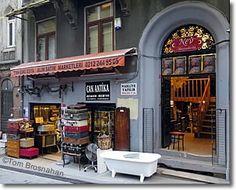 Çukurcuma antiques shop