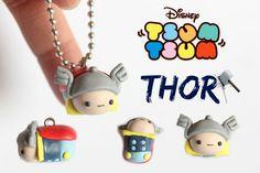Polymer Clay Thor Tsum Tsum [Collab w/ Mondoinundito]