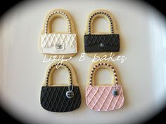 Lizy B: Have your Chanel and eat it too!! Chanel hand bag, purse cookies