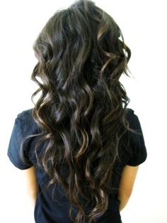 """Beautiful & Rebellious Curls ♥ To add perfect curls to your hair, grab our Bodywave Full Clip in Hair Extensions   Permanent curls   100% Remy human hair extensions. Available in up to 22"""" with free delivery! Click the image to shop now. www.cliphair.co.uk/"""