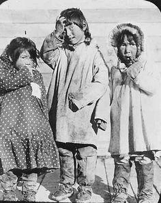 Athabascan girls - circa 1900