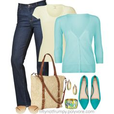 Light Weight Layers on a Rainy Day by fiftynotfrumpy on Polyvore