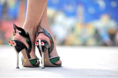 Yes, those shoes, my love! Prada S2012 RTW sandals.