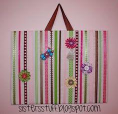 Sisters' Stuff: Ribbon Board