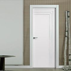 """The beautiful prefinished San Rafael Lacada 914 FD30 Fire Door with """"D"""" groove designs is pre-finished to a very high standard."""