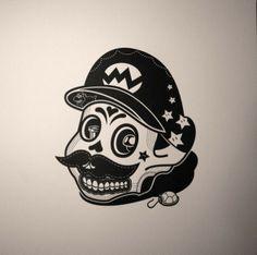 Mario de los muertos! #SuperMario