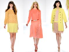 Delicious and refreshing sorbet colors ... want these in my closet for #Spring2014 #Summer2014