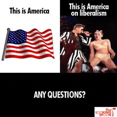 OBAMA CARTOONS: Miley Cyrus and today's America