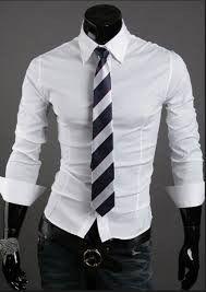 Camisas Entalladas Elastizadas Slim Fit