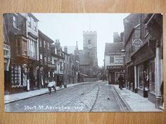 STERT STREET ABINGDON 1915 POSTMARK BERKSHIRE / OXFORDSHIRE   eBay