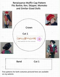 free patterns for doll pet clothes - Google Search