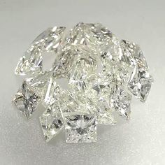 0.041 ctw J White Color SI2 Clarity 1.95x1.71x1.53 mm Princess Cut Loose Diamond