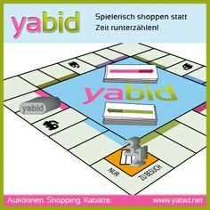#Bieten, warten, #Gebotszeit verkürzen? Spielerisch #shoppen auf #Yabid ist ganz einfach :) www.yabid.net
