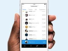 Leaderboard UI Inspiration — Muzli -Design Inspiration — Medium