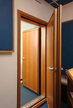 Ahhh... whats that sound? NOTHING.... sound proof doors for my bedroom....