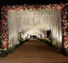 Reception Stage Decor, Wedding Backdrop Design, Wedding Hall Decorations, Wedding Stage Design, Desi Wedding Decor, Luxury Wedding Decor, Wedding Reception Backdrop, Wedding Mandap, Wedding Receptions