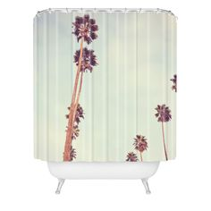 Catherine McDonald Streets Of Los Angeles Shower Curtain | DENY Designs Home Accessories