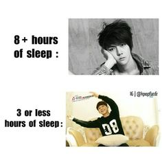 Especially true after a night of watching k-dramas or watching k-pop related vids all night^.^