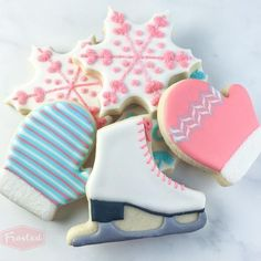 This 3D printed ice skates cookie cutter has been crafted for durability and quality. All cutters designed, engineered and tested by a fellow cookie enthusiast