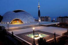 the mosque and Islamic center in Rijeka