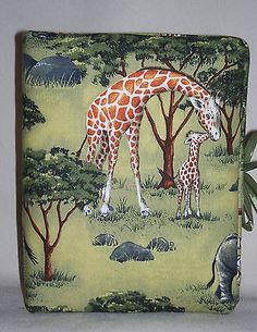 "Zebra Elephant Giraffe Handcrafted Handmade Photo Album Holds 80 4""X6"" - NEW in Cameras & Photo, Camera & Photo Accessories, Photo Albums & Storage | eBay"