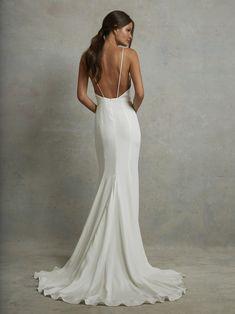 PRESCOTT – Tara Lauren Elegant Wedding, Perfect Wedding, Dream Wedding, Wedding Day, Sleek Wedding Dress, Romantic Weddings, Trendy Wedding, Spring Wedding, Western Wedding Dresses