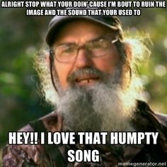 Si loves The Humpty Dance. - OMG! Michaela, does this sound like something you have heard before. Hmm.