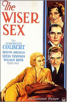 Cover from The Wiser Sex (1932)