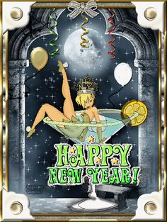 Wishing You A Fairy Happy New Year! May all your Dreams come true!
