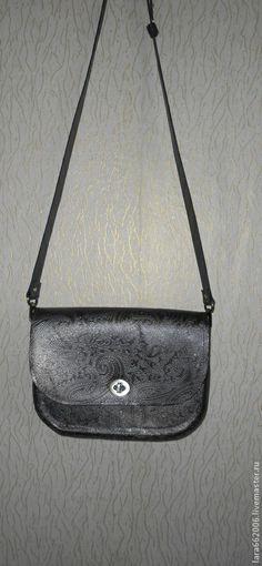 """Женская кожаная сумка """"ЦАРСКАЯ"""" из итальянской натуральной кожи - пейсли"""