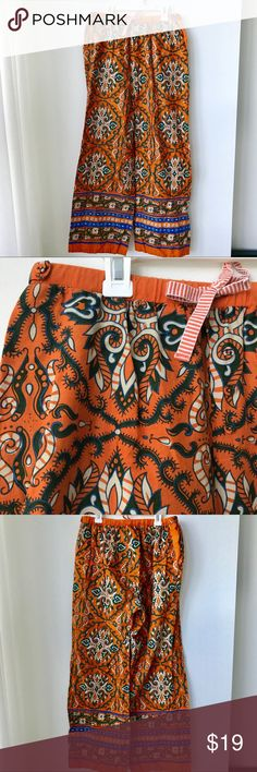 Anthropologie ELOISE pants Beautiful, super comfortable pants! I wear them during the day with wedge sandals and a cream/white sleeveless blouse💕 Anthropologie Intimates & Sleepwear Pajamas