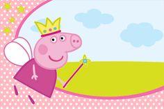 Convite Peppa Pig ! Prontos para editar e imprimir!