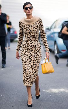 LEOPARD PRINT: As fashionistas te ensina... - FashionBreak