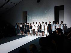 Attending the Mercedes Benz Fashion Week