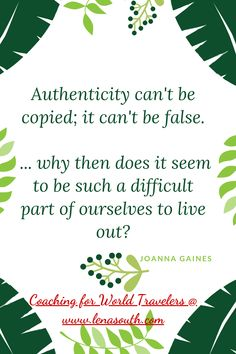 Hi, dear expat! What does it mean being authentic to you when you are away from your home culture?