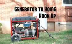 A generator is a core component to many people& emergency preparedness plans. (Maybe you have a cool charcoal powered or a multi-fuel generator.) However many fail to think through how exactly they will power the items they want to run when the grid Diy Generator, Emergency Generator, Portable Generator, Power Generator, Generator Transfer Switch, Generator For Home, Homemade Generator, Emergency Preparedness Plan, Emergency Power